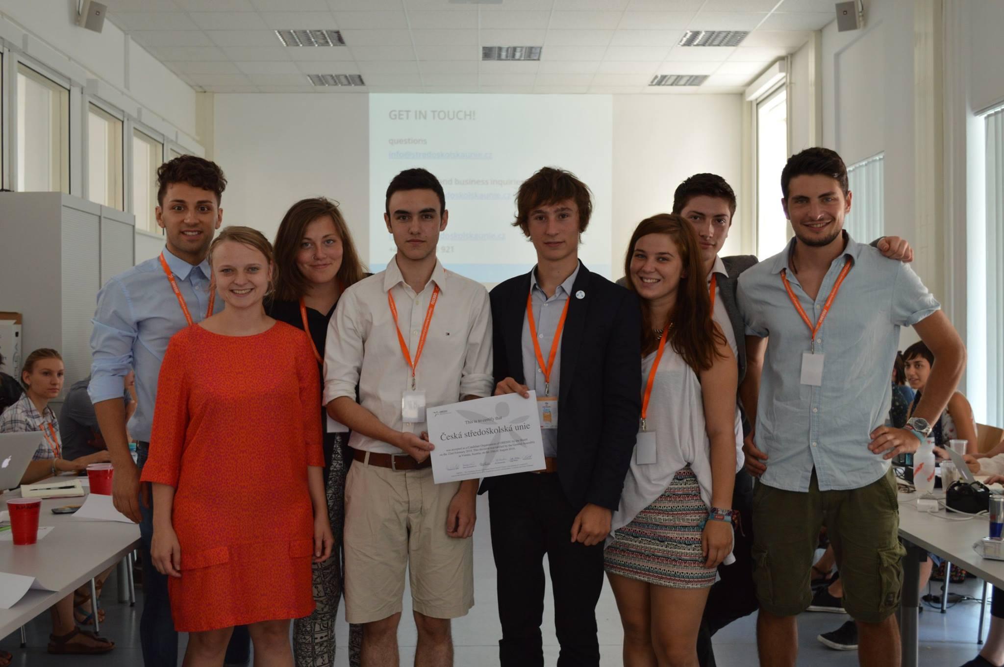 Česká středoškolská unie v roce 2014