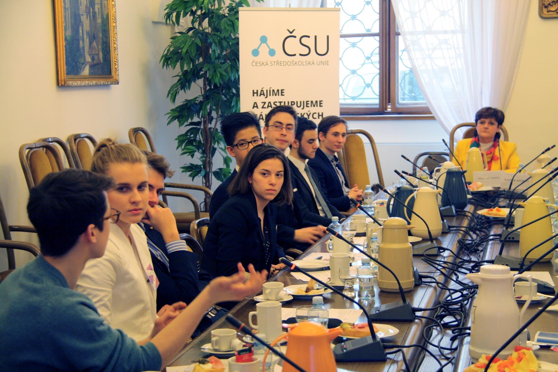 Proběhl 4. kulatý stůl o žákovských samosprávách a ZSV