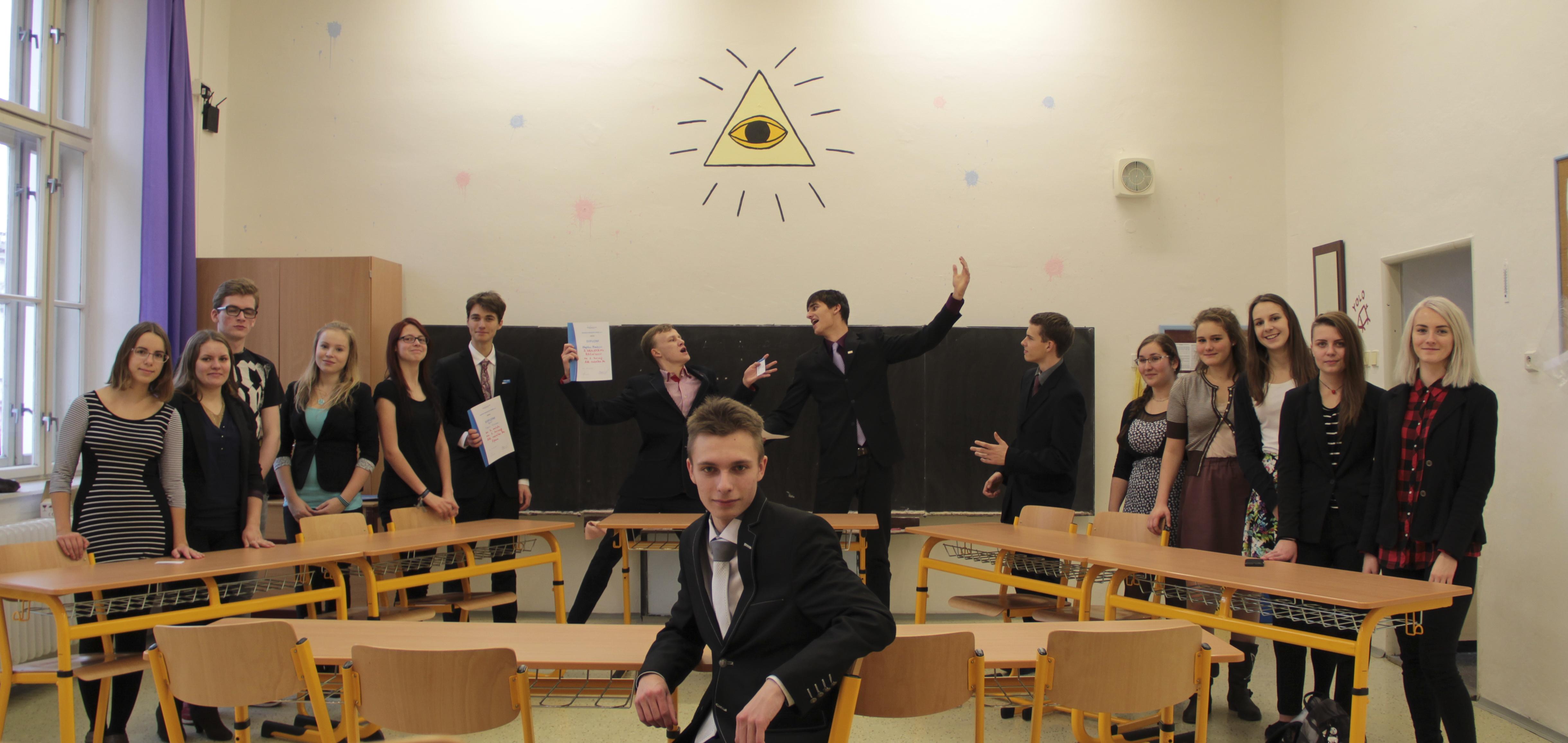 Středoškolák Dominik Tichý: Předávání své znalosti ostatním je nádherná věc